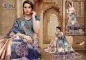 Siyu Albeli Nalli Boader Kora chex Saree Catalog Collection