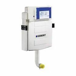 White Dual Flush Geberit Concealed Tanks, For Toilet