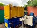 Hydraulic Compactor for Sheet Metal Scrap