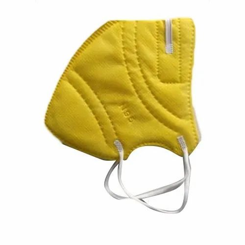Reusable Yellow N95 Protective Face Mask