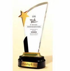 AC 8445 Rich Gold Acrylic Trophy