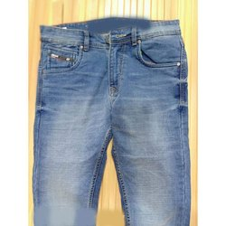 Slim Fit Button Mens Casual Wear Denim Jeans, Waist Size: 30 - 36