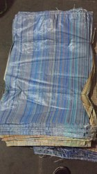 Plastic Striped Multicolour Bags, For Paddy Packing, Capacity: 90 kg