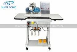 Semi-automatic Ultrasonic Hot Fix Stone Machine