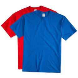 Plain Half Sleeve Men Cotton T-Shirt