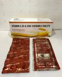 Immucee Tablets(Vitamin C,D3& Zinc Chewable Tablets