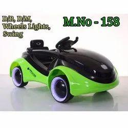 Plastic Kids Wheel Light Car, Model Name/Number: 158