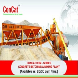 Concrete Batching & Mixing Plant