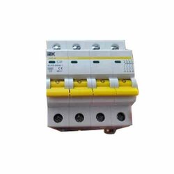 4 Pole AC Electric MCB, C32A, 400 V