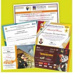 Certificate And Invite Card Printing Service, Delhi