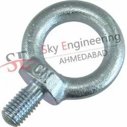 Stainless Steel Full Thread Eye Bolts, Size: 20 Mm