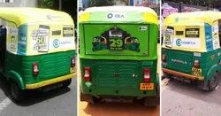 Auto Rickshaw Advertising Services, in Maharashtra, Mode Of Advertising: Outdoor