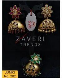 282 Gold Plated Fashion Jhumki