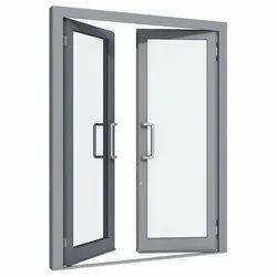 Aluminium Modern Aluminum Glass Hinged Window, Size/Dimension: 3 X 2 Feet