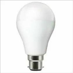 Round 85% Cool Brighter 9 W Premium Ceramic LED Bulb, Base Type: B22