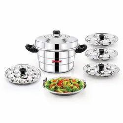 Diamond Stainless Steel Multi Steamer Pot