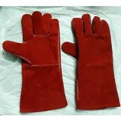 Unisex RLWG - 1232 Split Leather Welding Gloves, Finger Type: Full Fingered