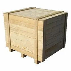 Hard Wood Industrial Brown Wooden Box, Size(LXWXH)(Inches): 1200x1000x800 Mm, Weight Holding Capacity(Kg): 301-1000 Kg