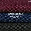 Laffer finish shirting fabric