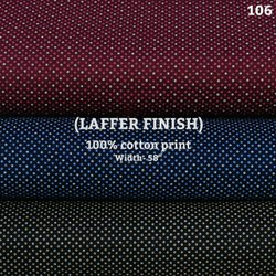 Laffer finish shirting fabric