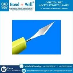 Ophthalmic Lance Tip Knives