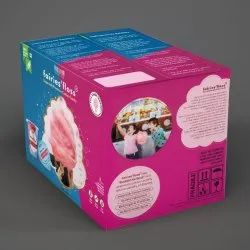 Round Fairies''Floss Cotton Candy Zesty Orange, Packaging Type: Packet