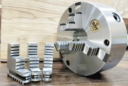 True Chucks BMT Gold 200mm Special Purpose Long Jaws Chuck, For Industrial
