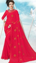 Designer Fancy Chiffon Saree