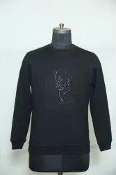 B-131 Woolen Sweatshirt With Patch