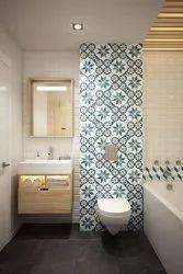 Washroom Interior, Work Provided: Wood Work & Furniture