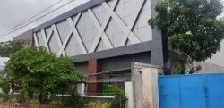 Steel Frame Structures Commercial Projects Showroom Construction