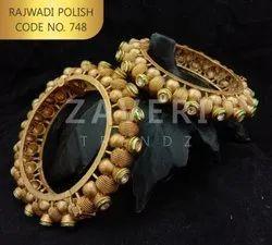 748 Rajwadi Polish Bangles