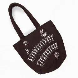 Cotton Ladies Printed Shoulder Bag