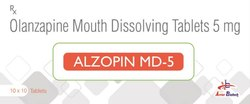 Olanzapine 5 Mg Mouth Dissolving Tablet