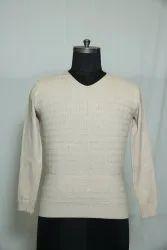 B-138 Woolen V Neck Men's Sweater