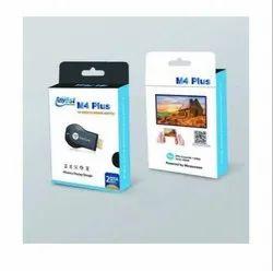 Plastic Black M4 Plus Wireless Display Dongle