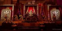 Ganesha Wedding Stage