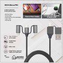 Xech Ultimus Pro - Data Cable And Multi Charger For Mobile And Laptops