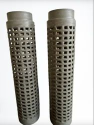 Plastic Perforated Dyeing Tube 285 mm - Grey (Polished)