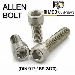 Stainless Steel Allen Cap Bolt