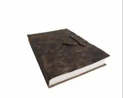 Buckle Closure Vintage Brown Handmade Leather Journal