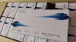 MATIG BLUE NITRILE GLOVES POWDER FREE - BULK QUANTITY ONLY