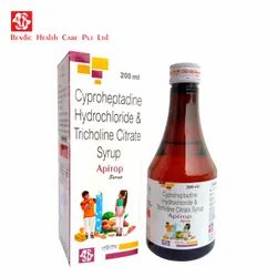 Cyproheptadine Hydrochloride and Tricholine Citrate Syrup