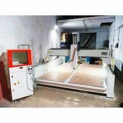 MS CNC Wooden Aluminum Pattern Making Machine