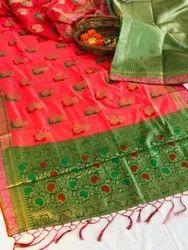 Koyal Silk Paithani Saree