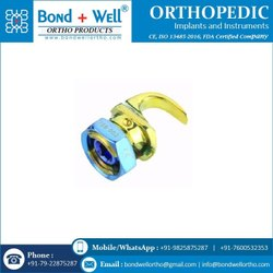 Orthopedic Laminar Hook Reduced Distance Single