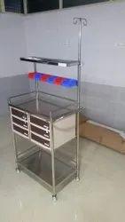 Anaesthesia Crash Cart Trolley