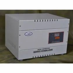 Automatic Micro controller 7 kVA Single Phase Servo Voltage Stabilizer, For Residential, 170 V