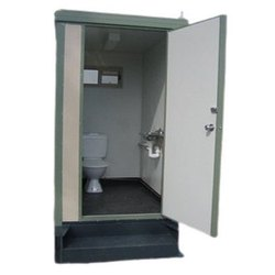 Rectangular Mobile Toilet
