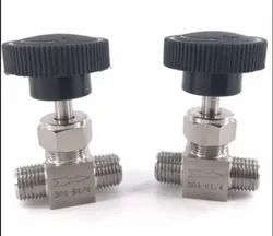 Male To Male Type Connector Needle Valves